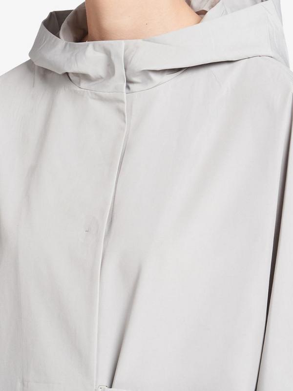 Prada tech poplin coat