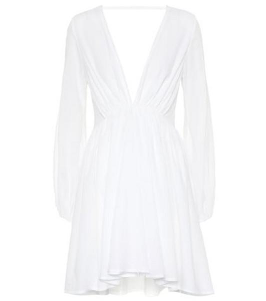 Kalita Aphrodite Day cotton minidress in white