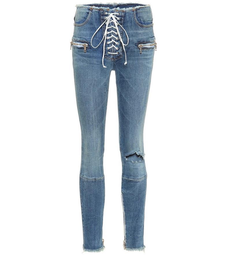 Unravel Skinny-leg jeans in blue