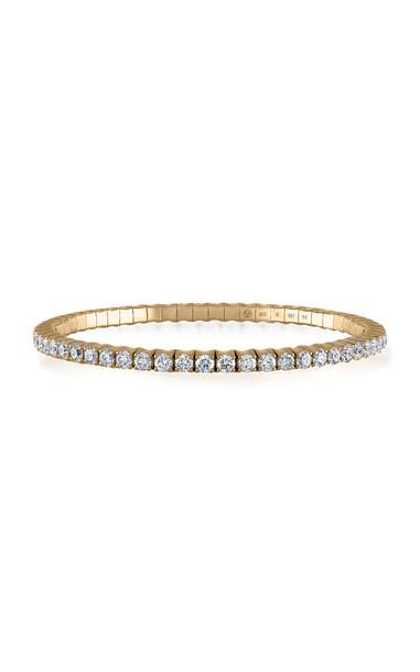 Vittorio B. Fine Jewels Fit For Life Jewels 18K Gold Diamond Bracelet in white