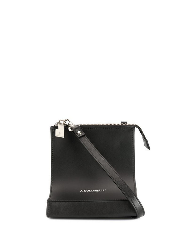 A-COLD-WALL* curved crossbody in black