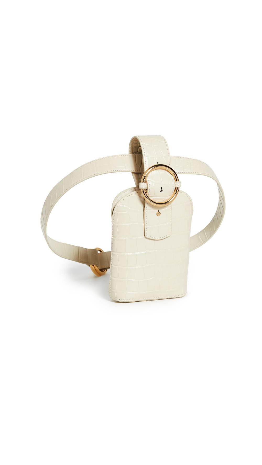 Parisa Wang Addicted Belt Bag in cream