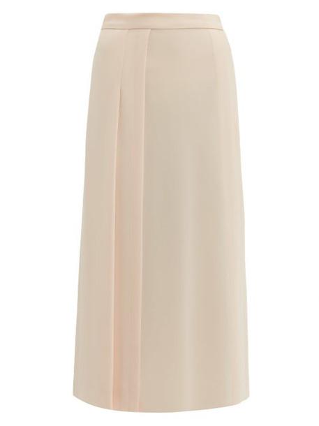 Max Mara - Tundra Skirt - Womens - Light Pink