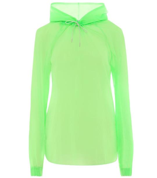Rejina Pyo Erica nylon top in green