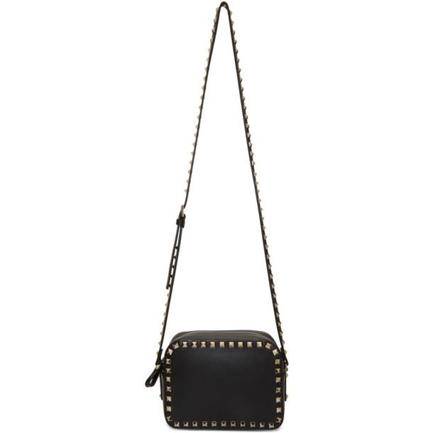 Valentino Black Valentino Garavani Rockstud Crossbody Bag