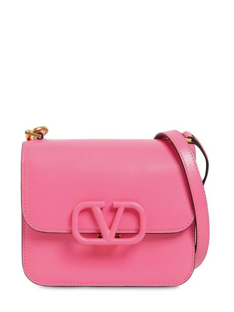 VALENTINO GARAVANI Vsling Small Leather Shoulder Bag in rose