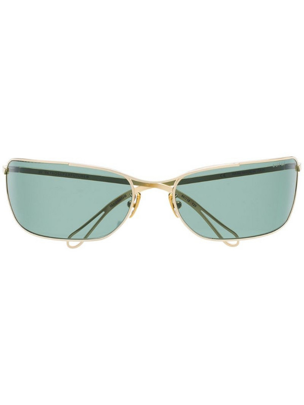 Super By Retrosuperfuture Zebedia sunglasses in gold