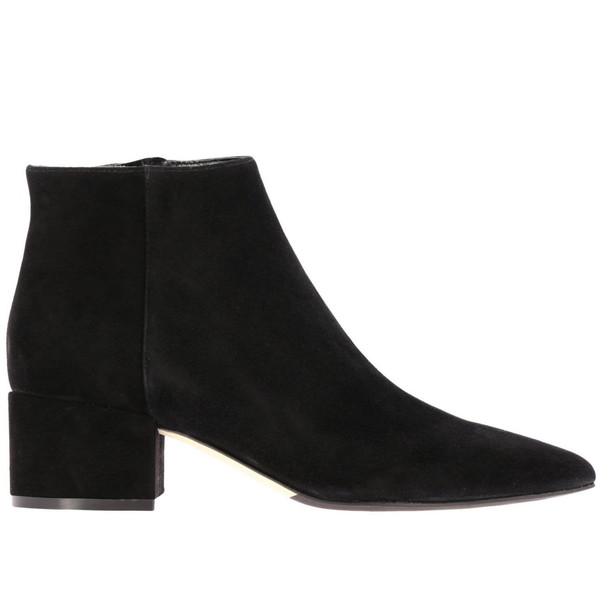 Sergio Rossi Heeled Booties Shoes Women Sergio Rossi in black