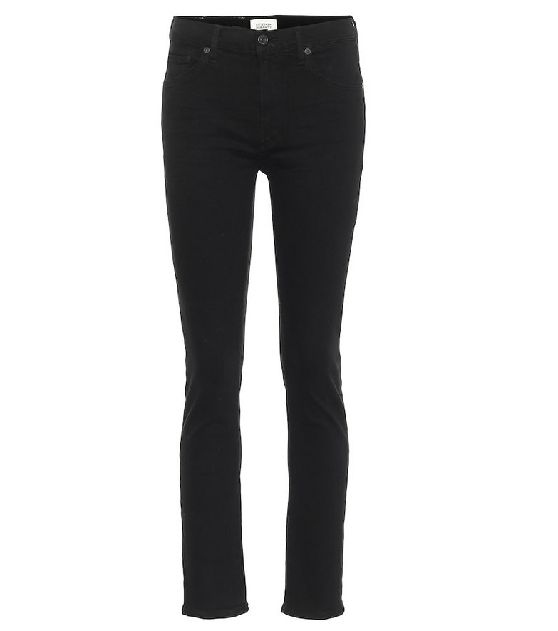 Citizens of Humanity Skylar mid-rise slim jeans in black