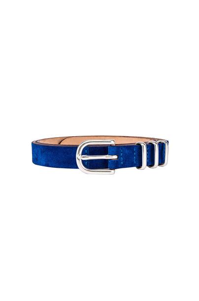 Rag & Bone Jet Belt in blue