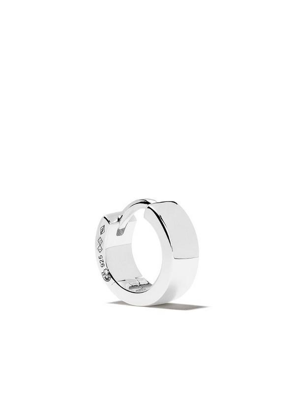 Le Gramme 9/10G Ribbon earring in silver
