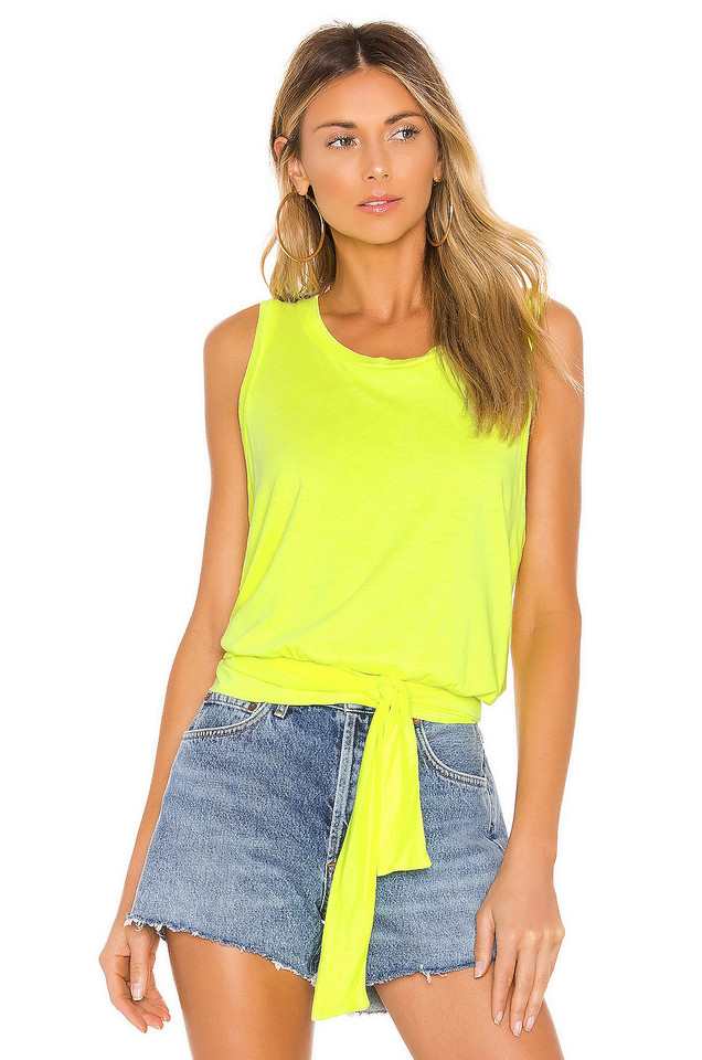 LA Made Desilusion Top in yellow