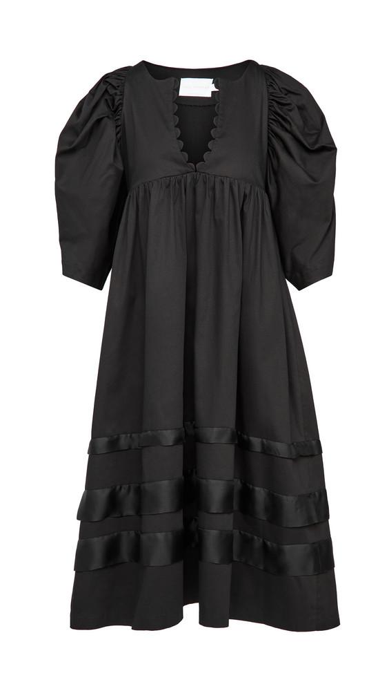 Kika Vargas Sophia Dress in black