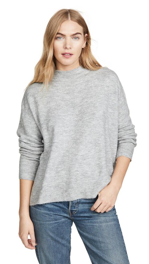 MINKPINK Funnel Neck Sweater in grey