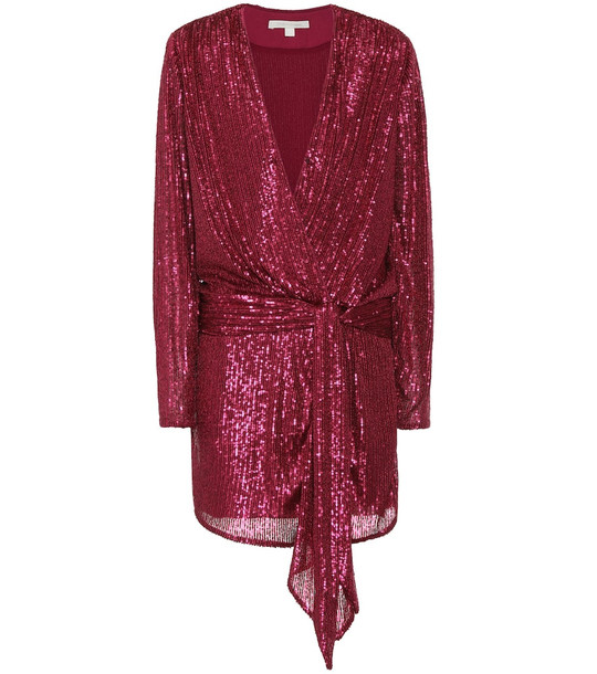 Jonathan Simkhai Exclusive to Mytheresa – Sequined minidress in pink