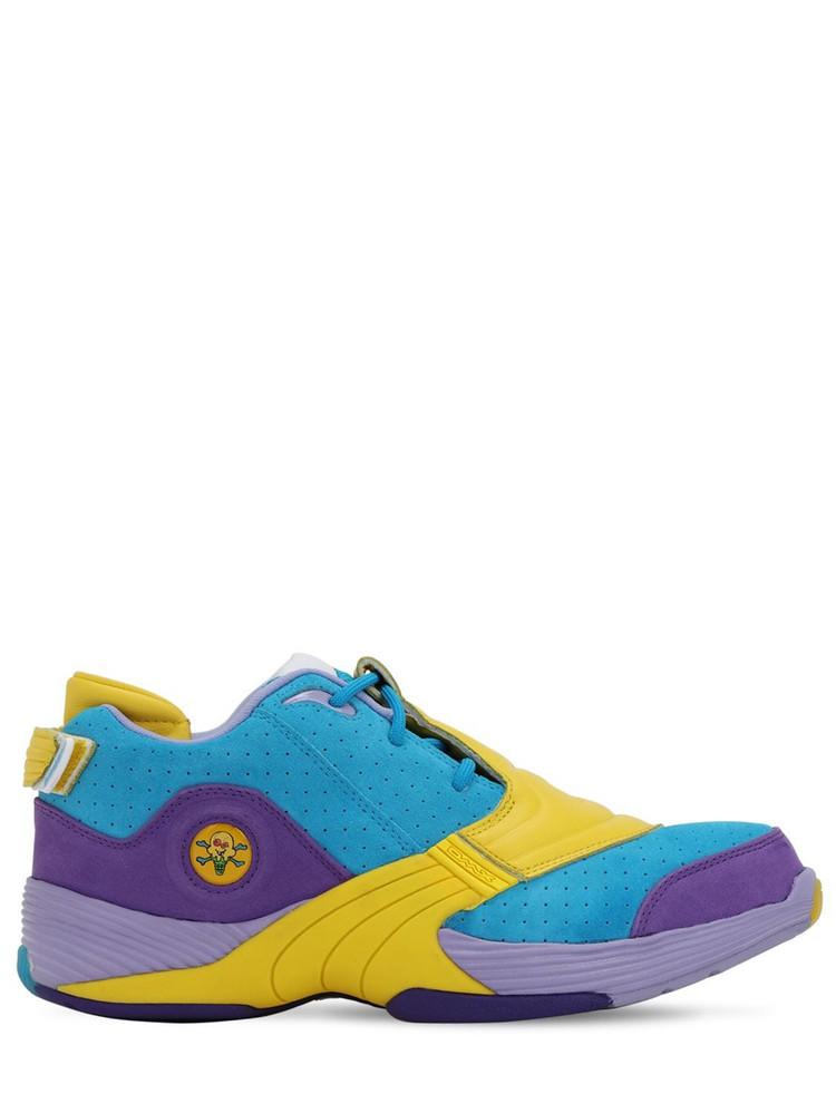 REEBOK CLASSICS Billionaire Boys Club Answer Mu Sneakers in blue / yellow