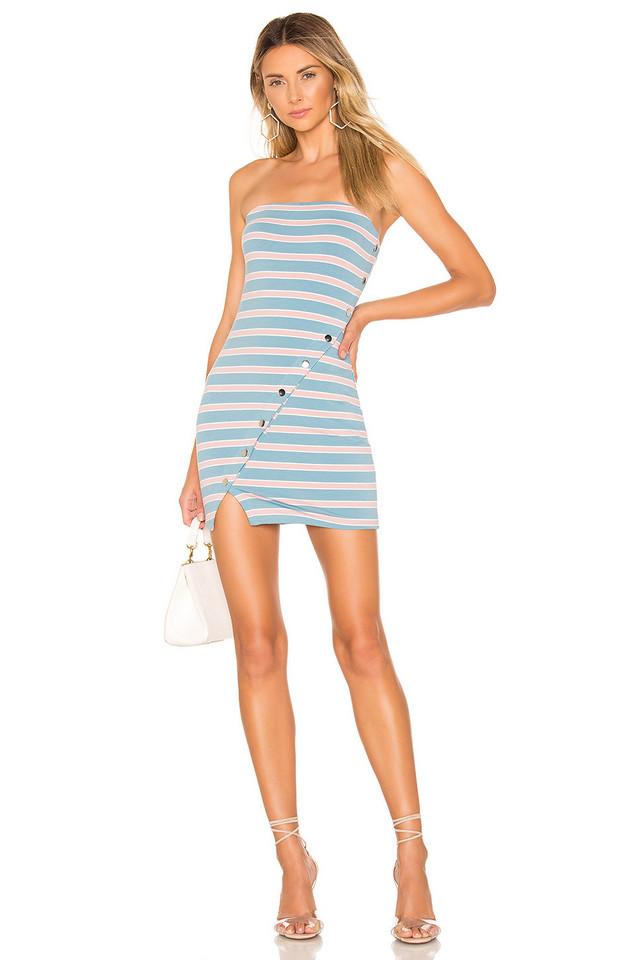 Lovers + Friends Charlize Mini Dress in blue