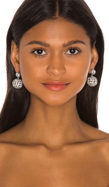 Jennifer Behr Yolanda Earring in Metallic Silver
