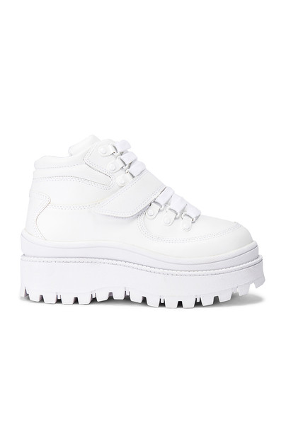 Jeffrey Campbell Top Peak Hiking Boot in white