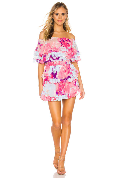 MISA Los Angeles Isella Dress in pink