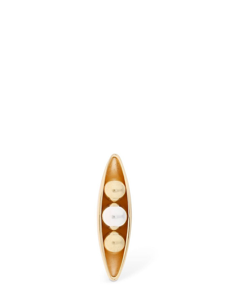 ANNE MANNS Eadie Mono Earring in gold / silver