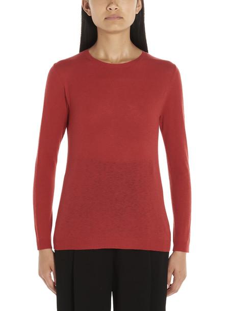 Weekend Max Mara giga Sweater in red