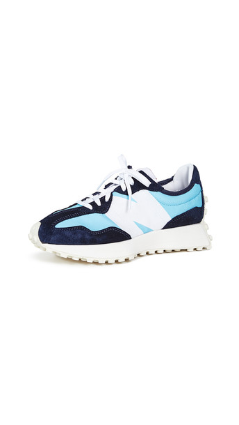 New Balance Lace Up Trainers in blue