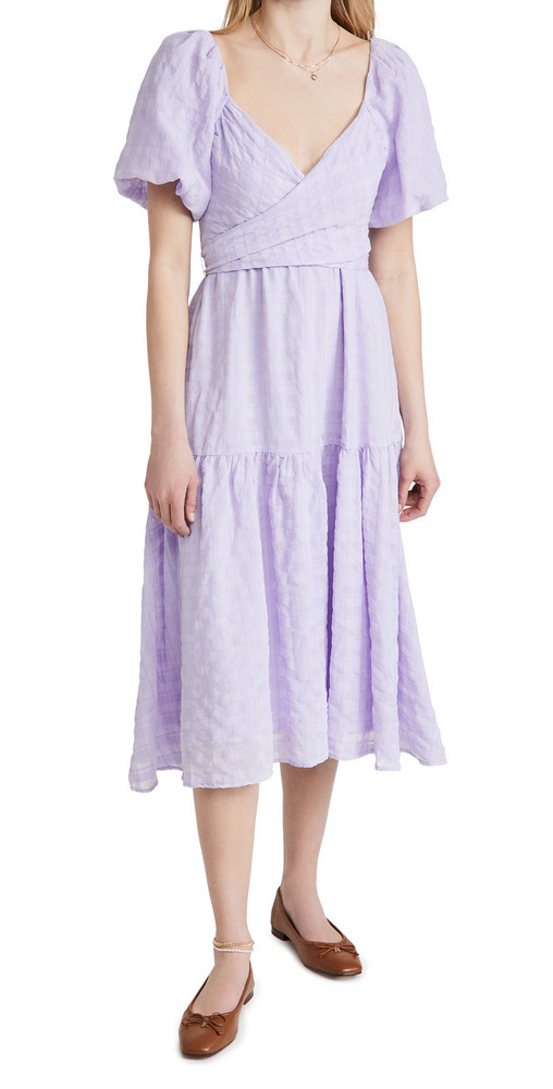 ASTR the Label Sonnet Dress in lavender