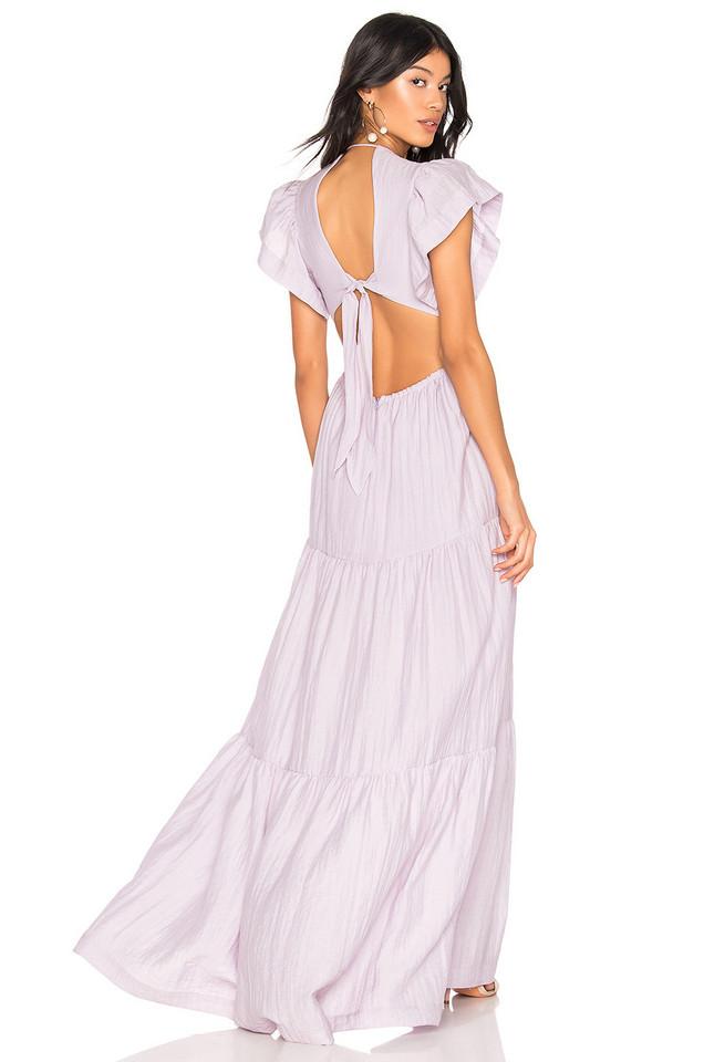 Sabina Musayev Cecilia Dress in lavender