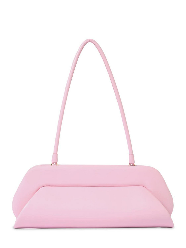 THEMOIRÈ Dioni Faux Leather Baguette Shoulder Bag in blush
