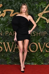 dress,mini dress,martha hunt,celebrity,model,pumps,red carpet dress