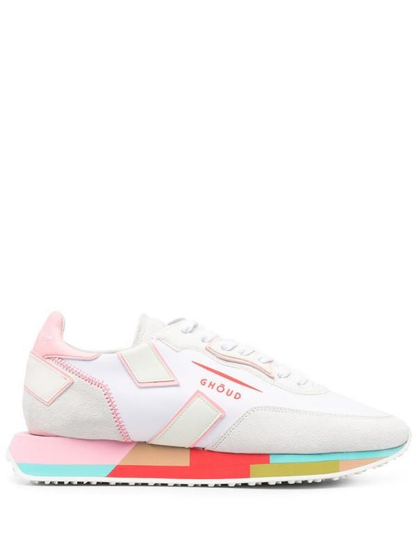 Ghoud Rush low-top sneakers in white