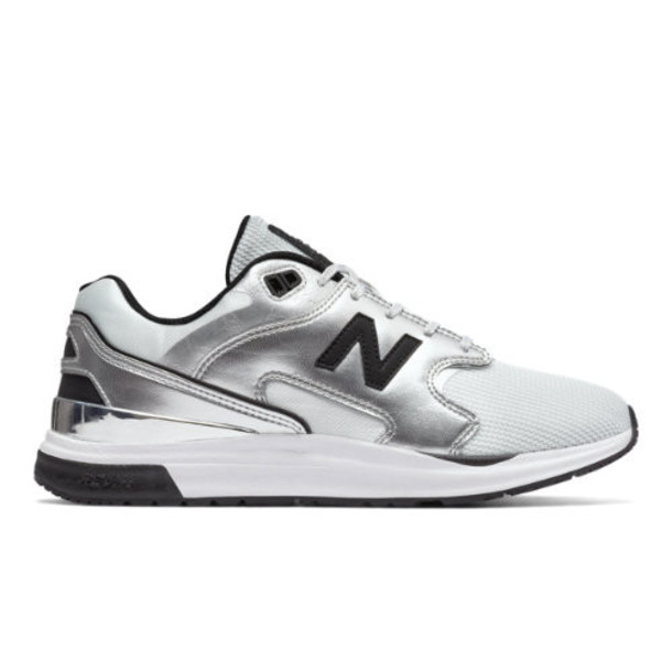 New Balance 1550 Molten Metals Women's Sport Style Shoes - Silver/White (WL1550MB)