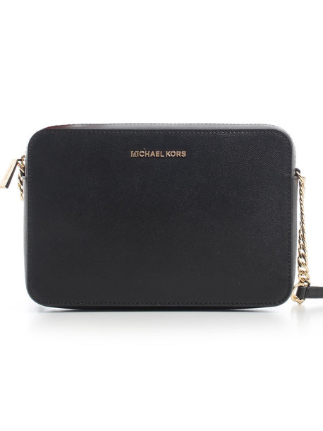 MICHAEL Michael Kors Jet Set Lg Ew Crossbody in black
