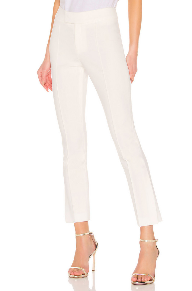 Smythe Stovepipe Pant in white