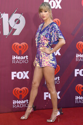 top,sequins,sequin shirt,taylor swift,iheart,celebrity,shorts,sandals,sandal heels