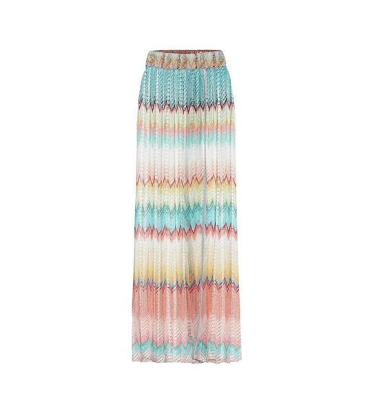 Missoni Mare Crochet knit maxi skirt