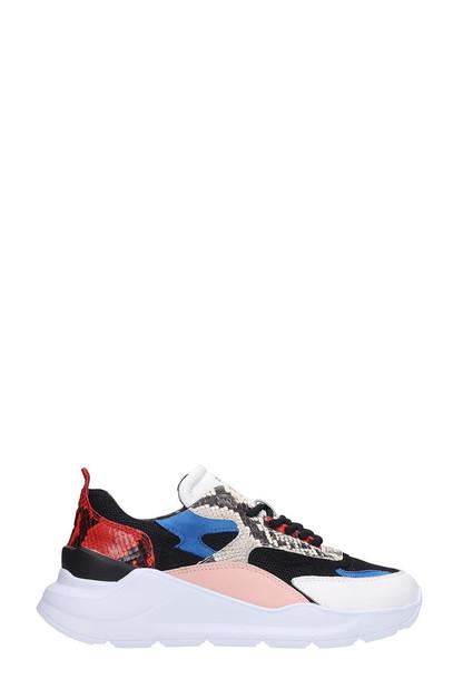 D.A.T.E. D.A.T.E. Fuga Sneakers In Black Leather
