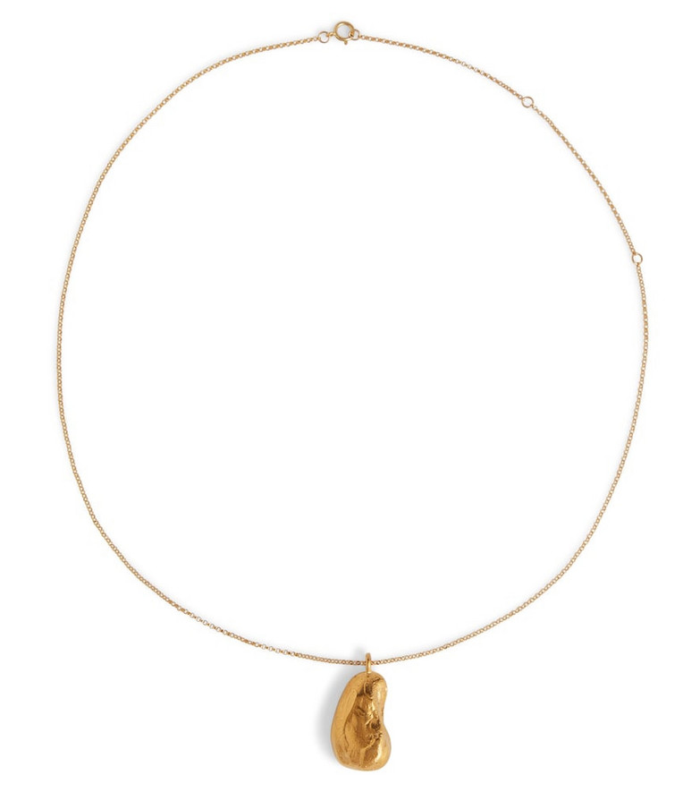 Alighieri The Milkyway Untold 24kt gold-plated necklace