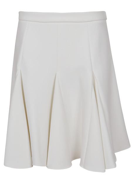Off-White Cheerleader Mini Skirt White No Color