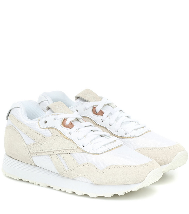 Reebok x Victoria Beckham Rapide suede sneakers in white