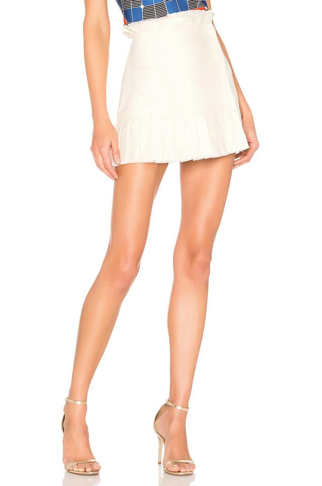 Alexis Merit Skirt in ivory