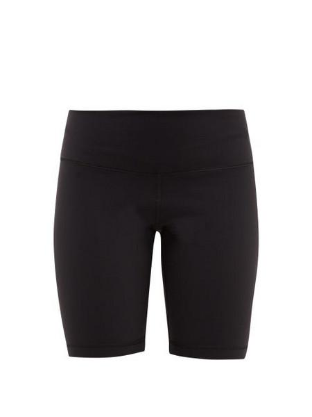 WARDROBE.NYC Wardrobe. nyc - High Rise Technical Jersey Cycling Shorts - Womens - Black