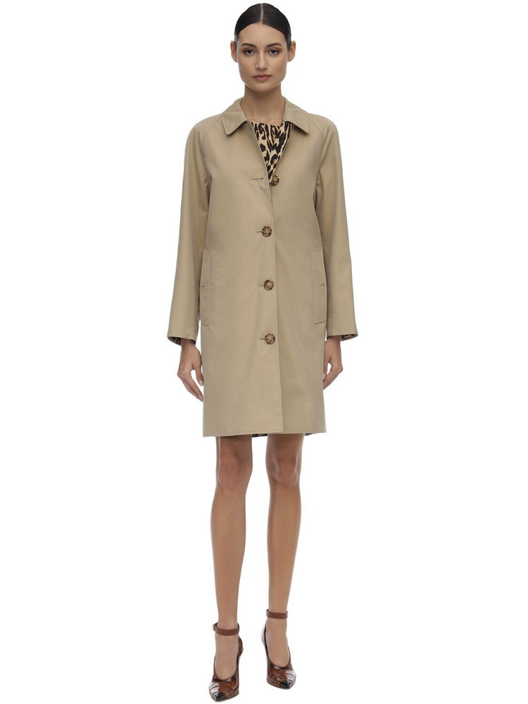 BURBERRY Cotton Canvas Trench Coat
