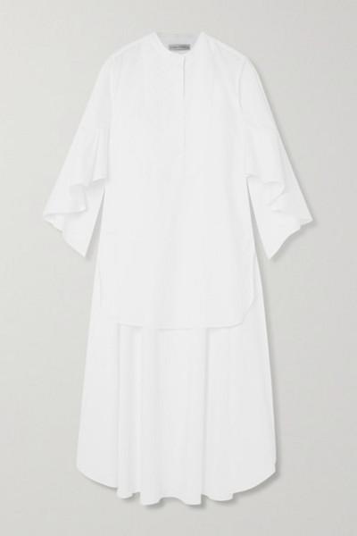 palmer/harding palmer//harding - Charlie Asymmetric Cotton-blend Poplin Shirt - White