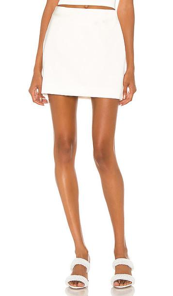 GAUGE81 Mani Skirt in White