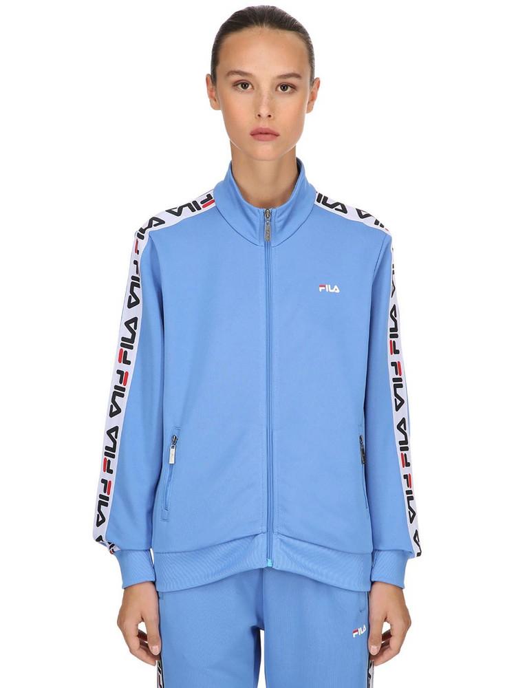 FILA URBAN Talli Track Jacket W/ Logo Side Bands in blue