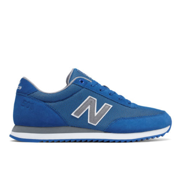 New Balance 501 Ripple Sole Men's Running Classics Shoes - Blue/Grey (MZ501OCA)