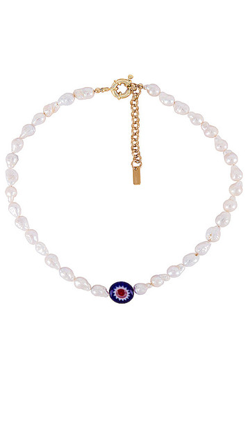 joolz by Martha Calvo Milos Necklace in White
