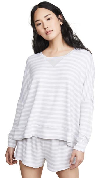 Honeydew Intimates Starlight Sweatshirt in grey